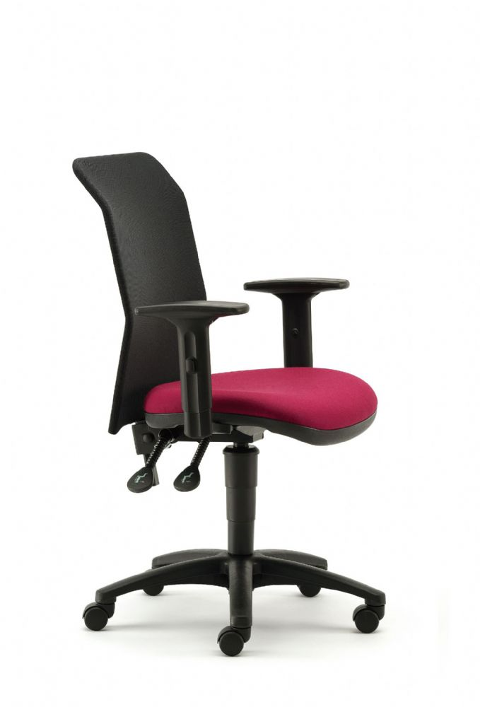 Pledge Air Task Chair With Mesh Back